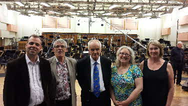 Maxwell Davies and Pastores members